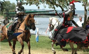 Jousting joust knights Wikipedia commons